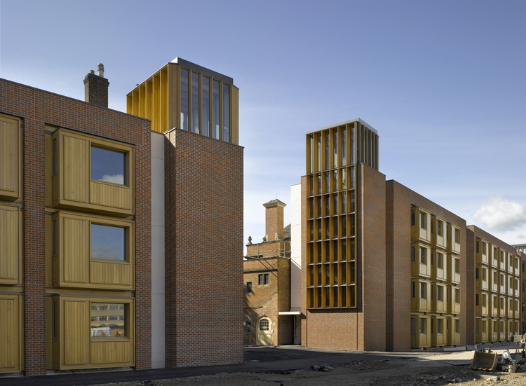 Residencia Estudiantil, Somerville College / Níall McLaughlin Architects, © Nick Kane