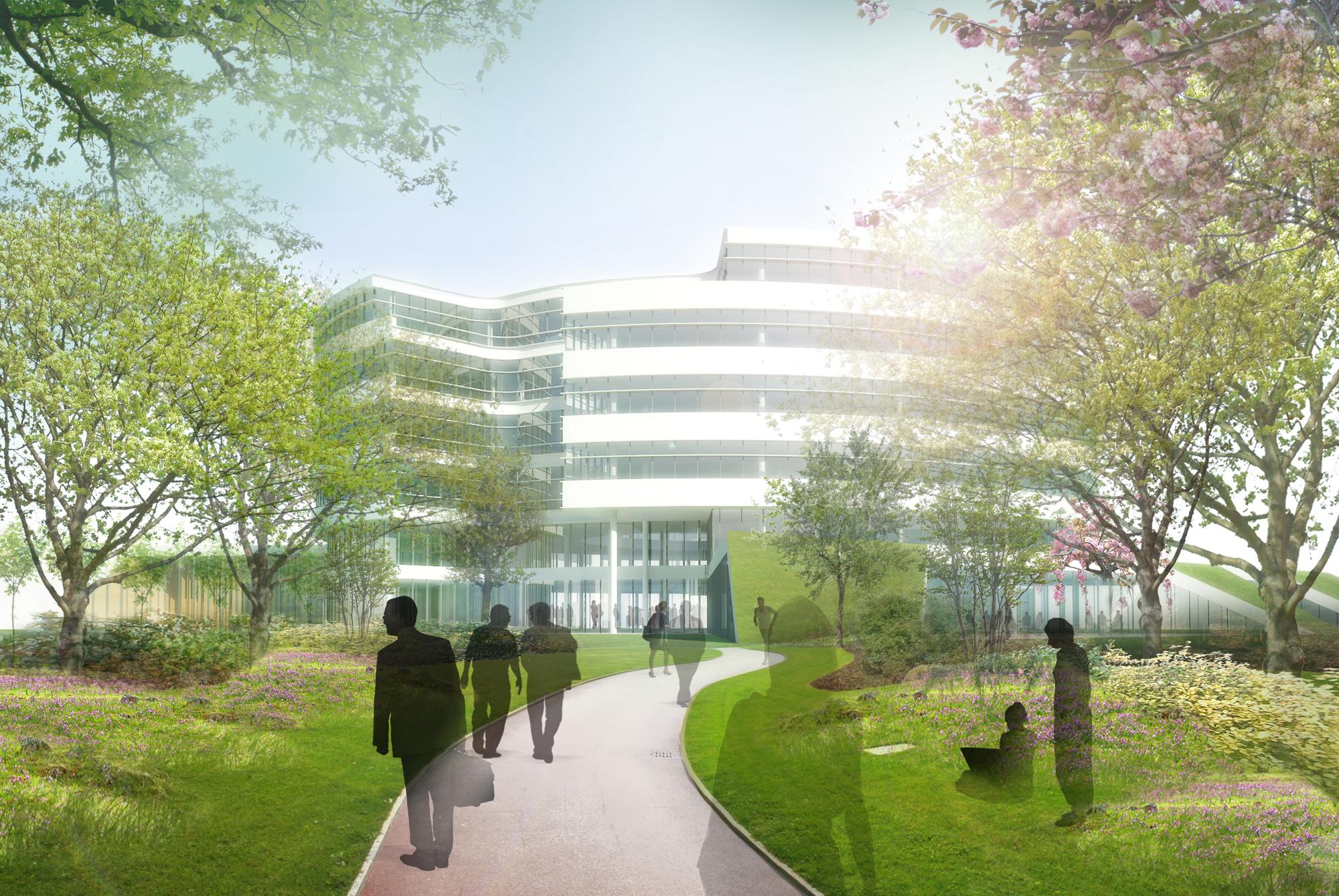 Novo Nordisk Corporate Centre / Henning Larsen Architects