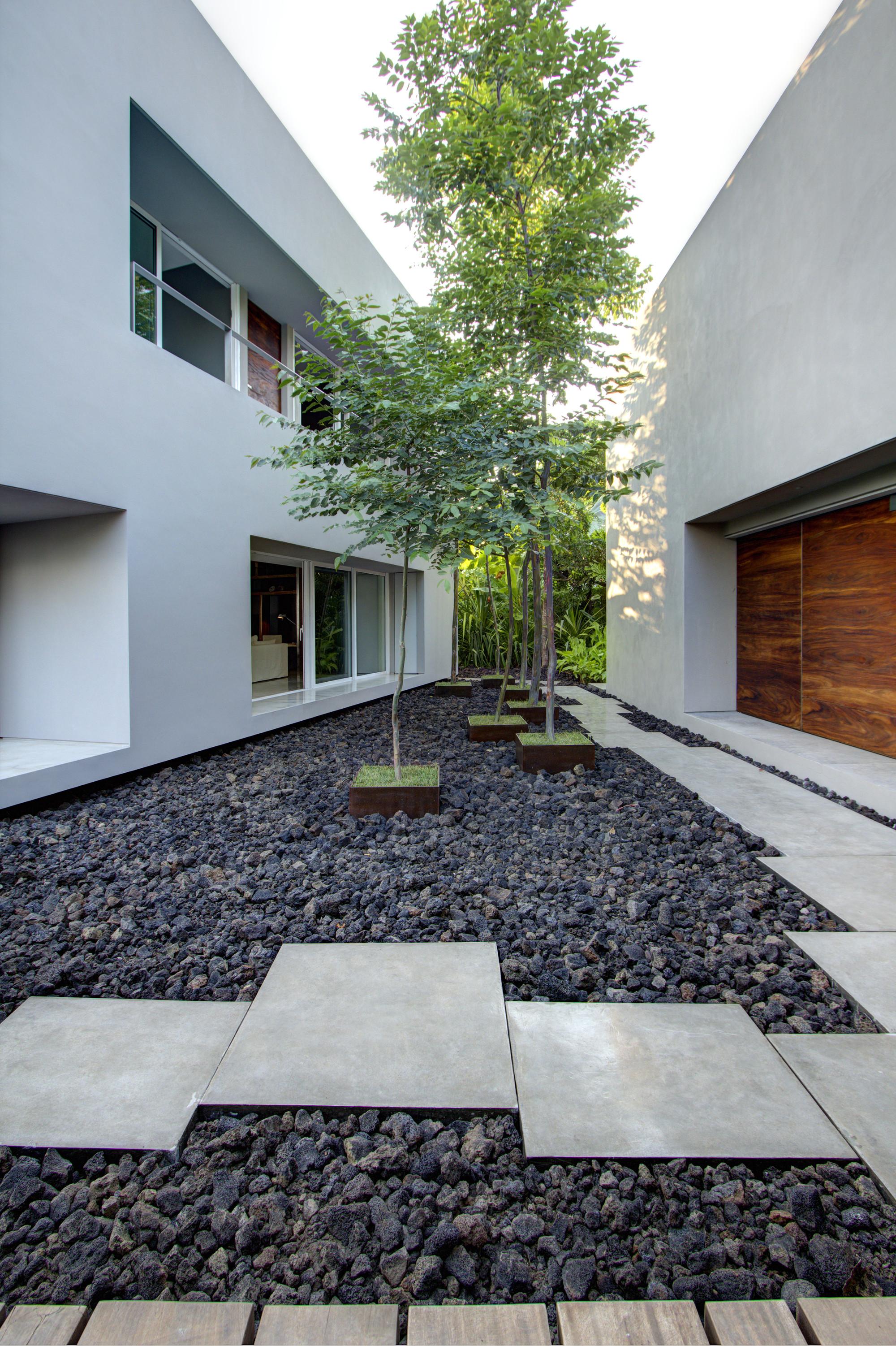 Gallery of casa la punta el as rizo arquitectos 4 for Decoration jardin cailloux blanc