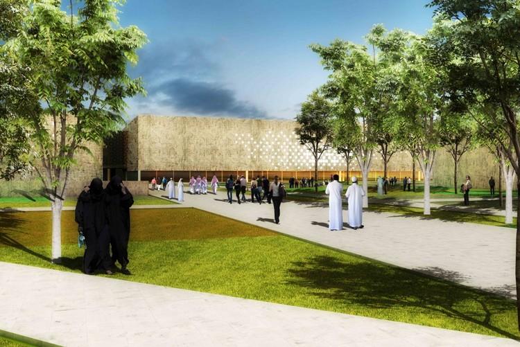 Propuesta Museo Nacional de  Afghanistan / BNKR Arquitectura +  A-001 Taller de Arquitectura, Cortesía de  A-001 Taller de Arquitectura + BNKR Arquitectos