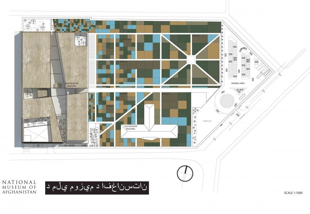 Galer a de propuesta museo nacional de afghanistan bnkr for Arquitectura arquitectura