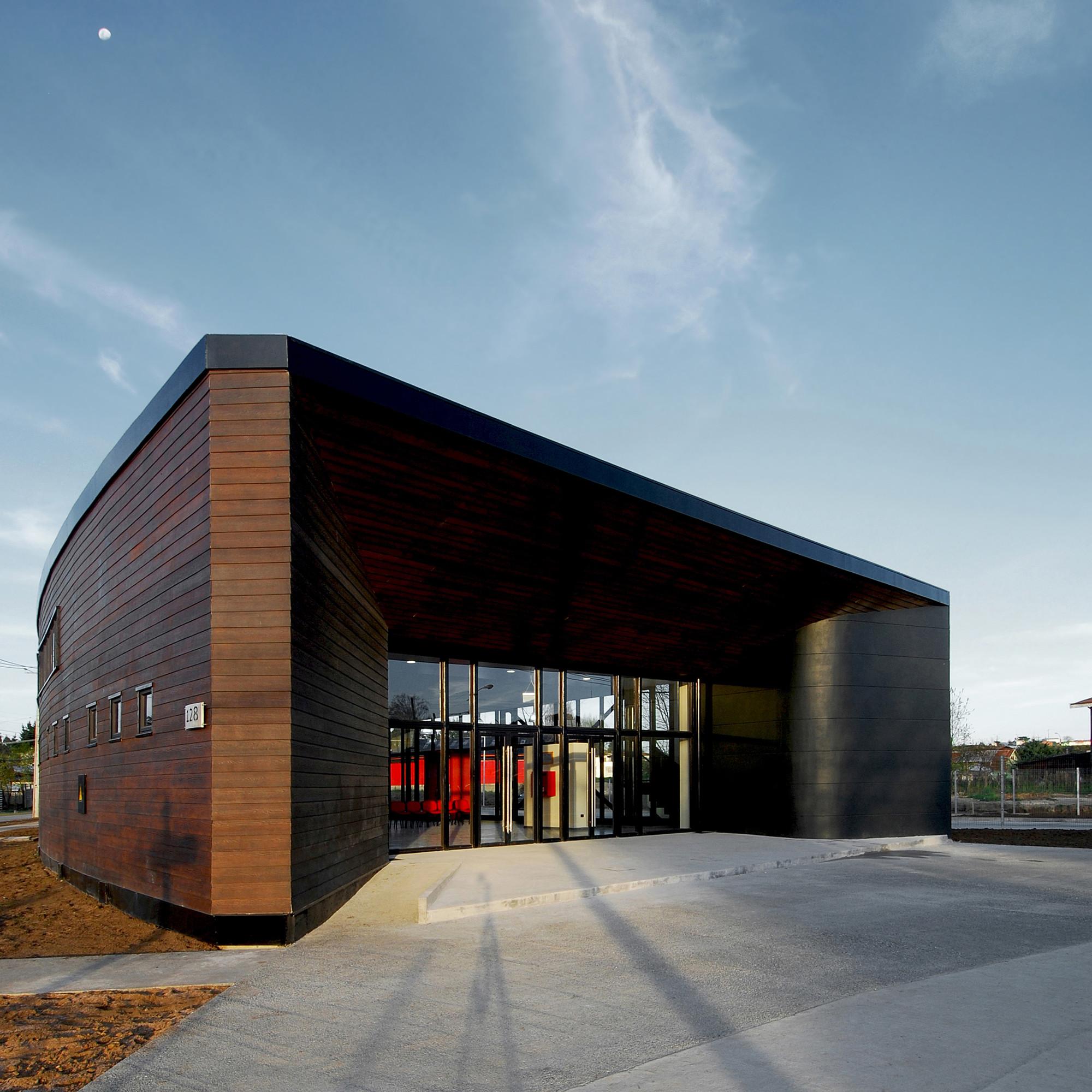 Terminal de buses los lagos tng arquitectos plataforma for Plataforma de arquitectura