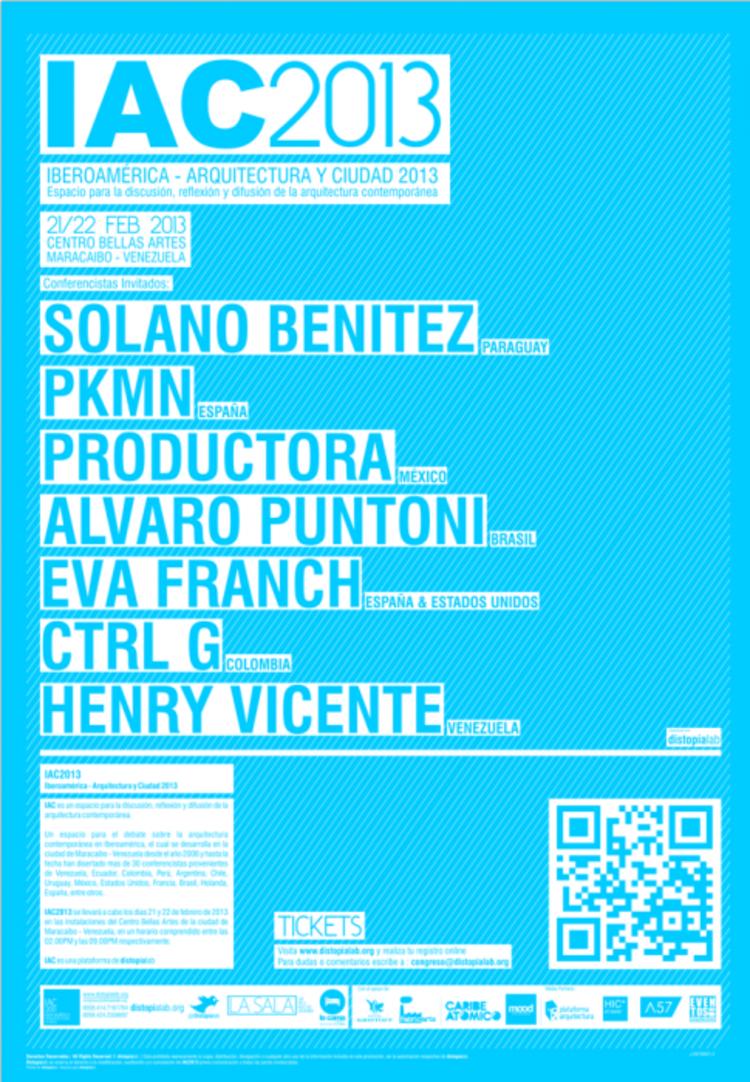 IAC 2013: Ibero-América -  Arquitetura e Cidade, Cortesia de IAC 2013