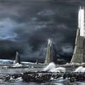 Citadel Skyscraper, Victor Kopeikin + Pavlo Zabotin's tsunami-proof fortress. Image © Victor Kopeikin + Pavlo Zabotin.