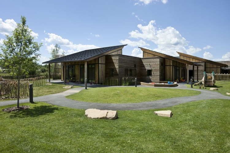 Teton County Children's Learning Center / Ward+Blake Architects + withD.W. Arthur Associates Architecture, Inc., © Roger Wade Studios