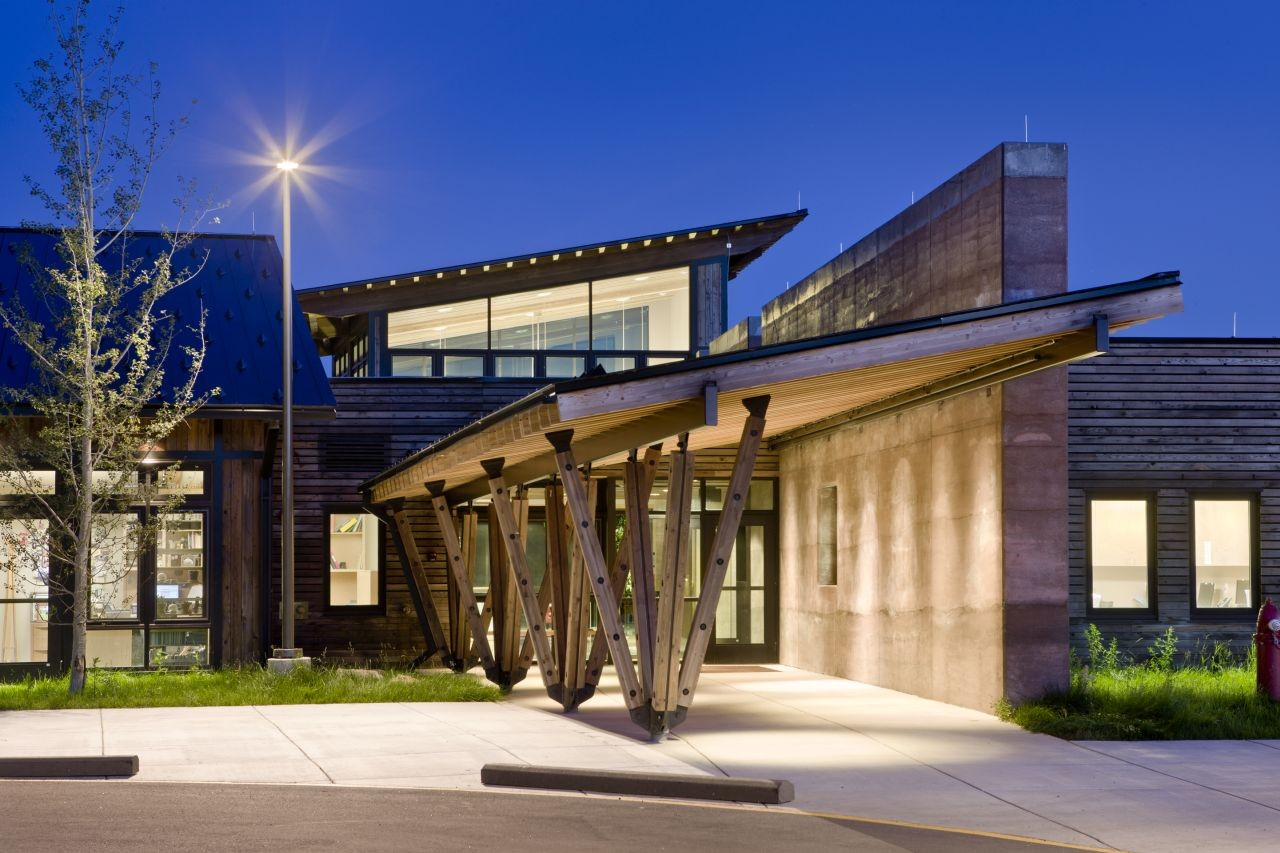 Gallery of teton county children 39 s learning center ward for Architects corporation