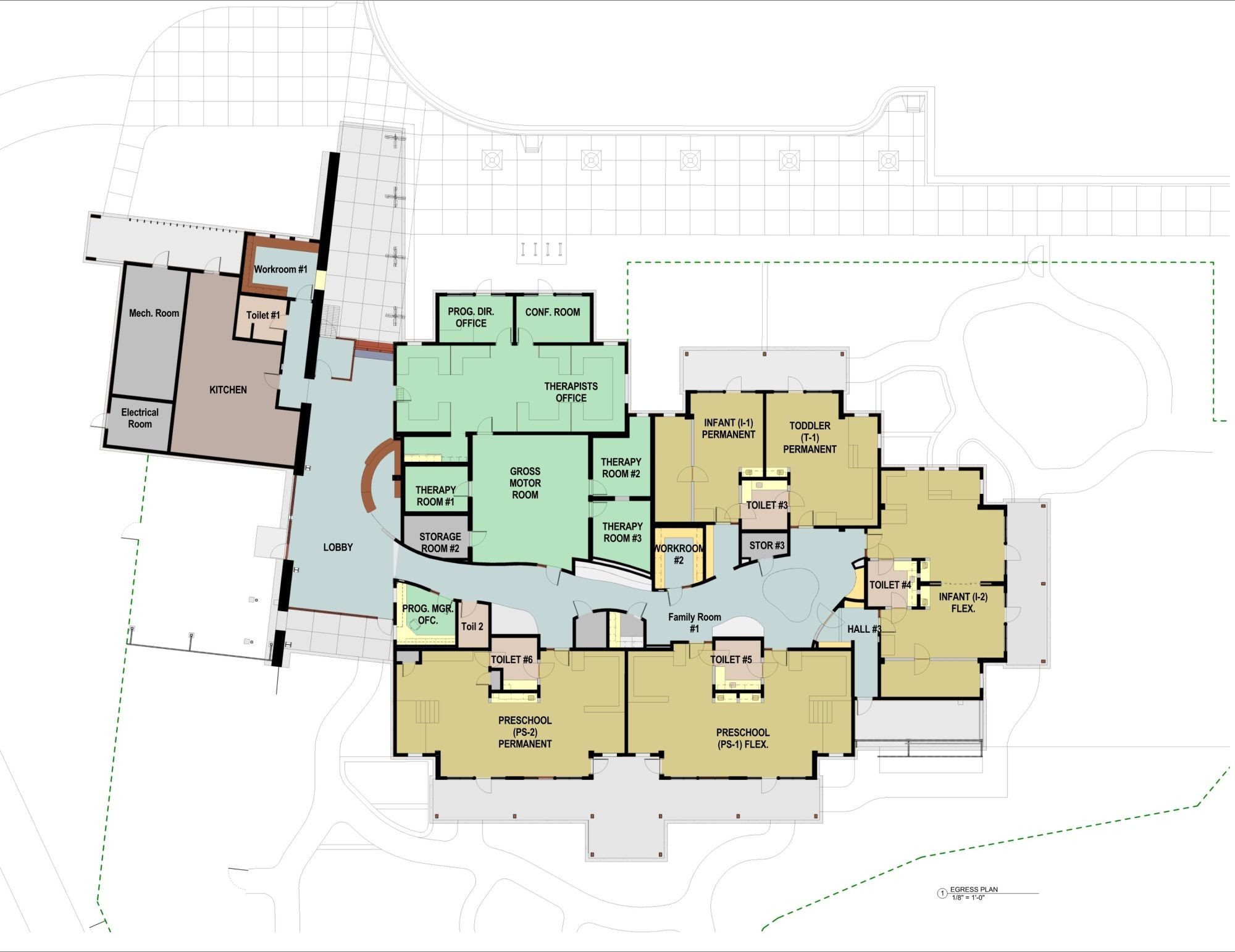 The Villages Floor Plans Gallery Of Teton County Children S Learning Center Ward
