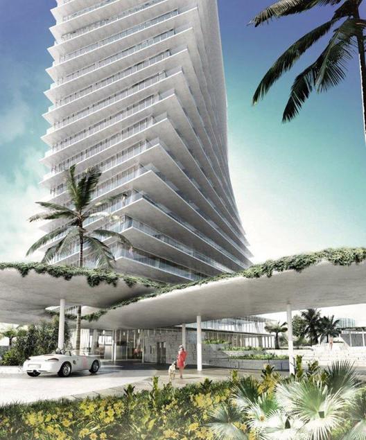 Miami: A próxima grande cidade arquitetônica dos Estados Unidos?, Coconut Grove Condo / BIG - Via DesignBoom