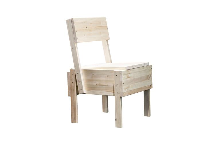 Cadeira Sedia 1 / Enzo Mari, © Artek