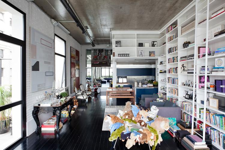Loft no Itaim / FGMF Arquitetos, © Fran Parente