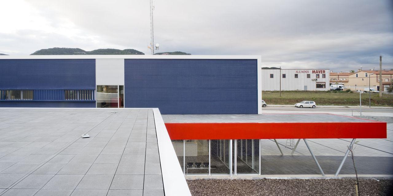 Estación de Policía Montblanc / taller 9s arquitectes