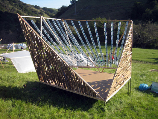 Another Design Village student structure (© CAED)