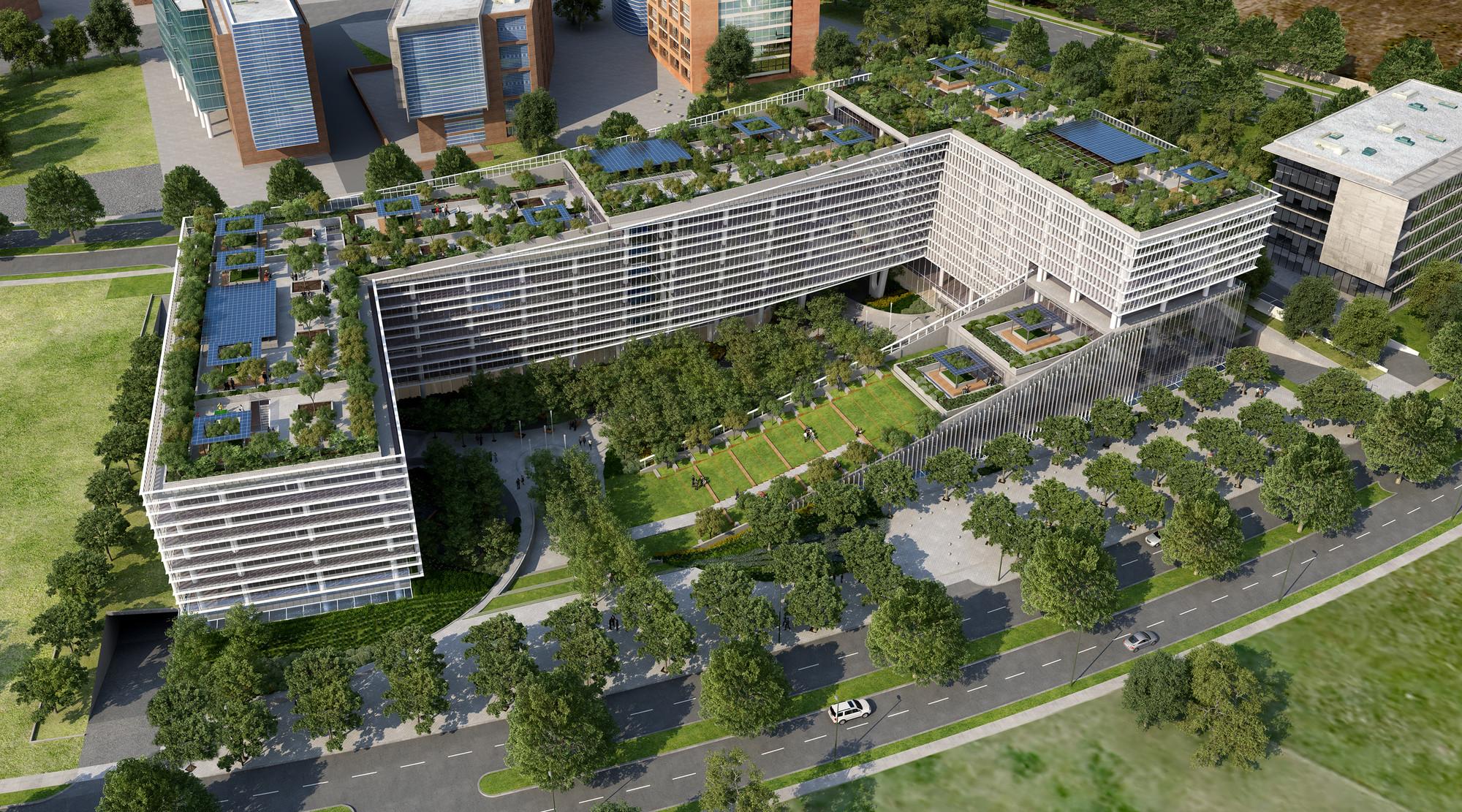 World Green Center Cce Arquitectos Andreu Arquitectos