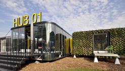 Hub 01 - Terminal  Móvel de Habitação para Estudantes / dmvA Architecten + A3 Architects