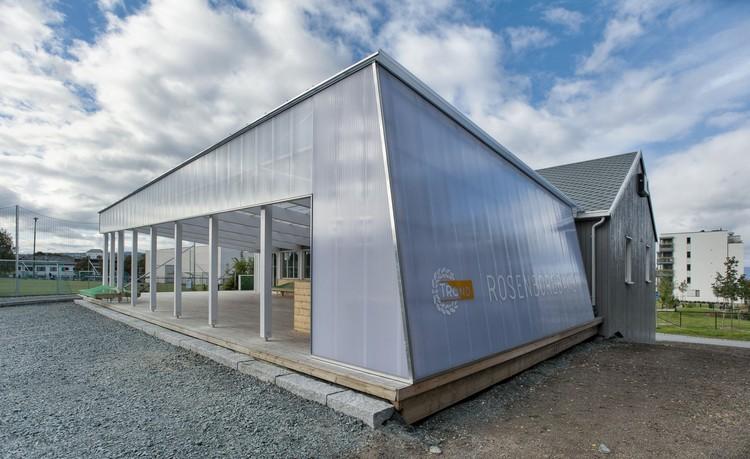 Trond clubhouse / Bjørke Arkitektur + Steffen Wellinger, © Pasi Aalto