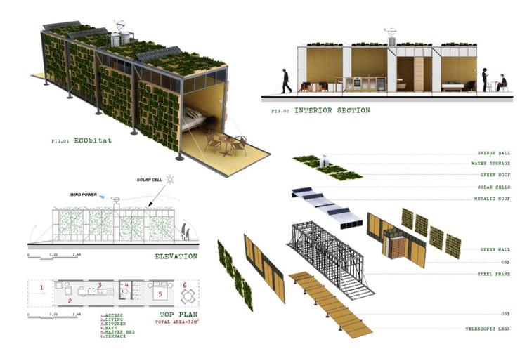 Ecobitat casa modular transportable plataforma arquitectura for Arquitectura modular