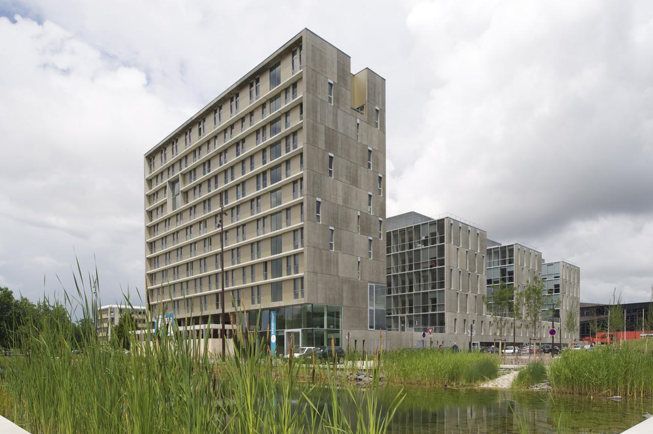 Tripode Office Building / Barré Lambot Architectes, © Philippe Ruault