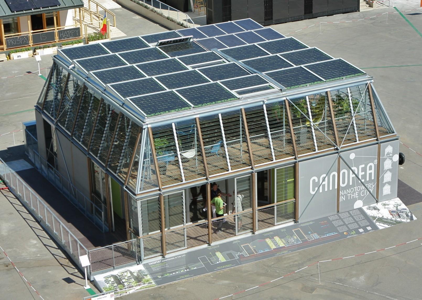 Casa CANOPEA, la propuesta ganadora del Solar Decathlon Europe 2012, © Vía Madrid.es