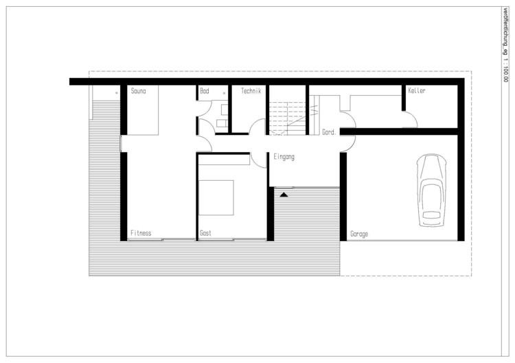 House heilbronn k m architektur archdaily - Architektur plan ...