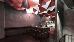 Instalação de luz no bar If Dogs Run Free  / Tzou Lubroth Architekten