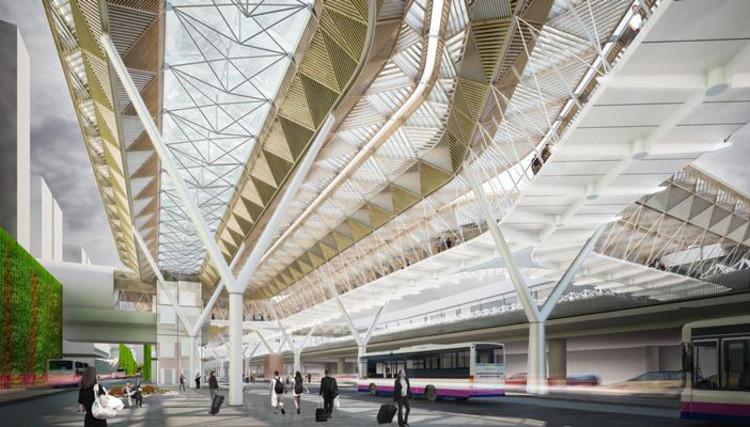 Grimshaw projetará uma ampliação para o aeroporto de Frankfurt, Cortesia de BDonline