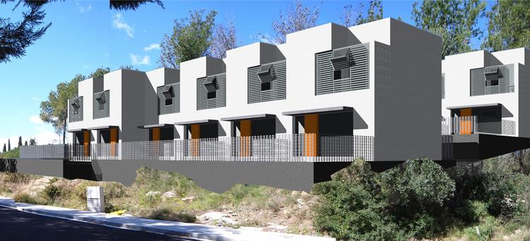 52 viviendas sociales en rodolat aguilera guerrero - Arquitectos tarragona ...