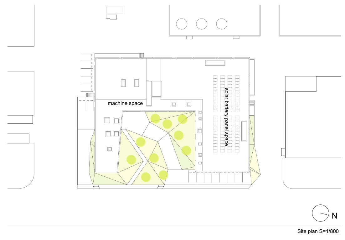Gallery of Spiralab KINO Architects 30 – Solar Site Plan