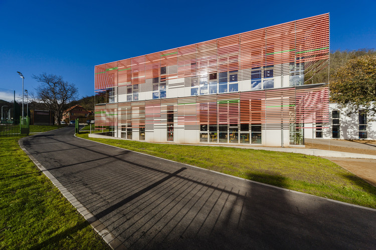 Escuela en Velká Chuchle / Grido, © Tomáš Malý
