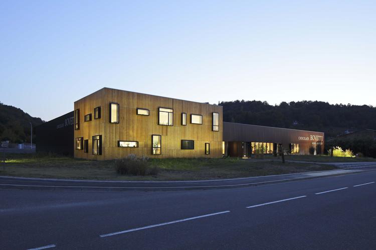 Chocolaterie Bovetti / CA/PA Architectes, Cortesía de CA/PA Architectes