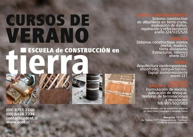 Curso de Verano de construcción en Tierra, © ECoT