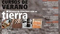 Curso de Verano de construcción en Tierra