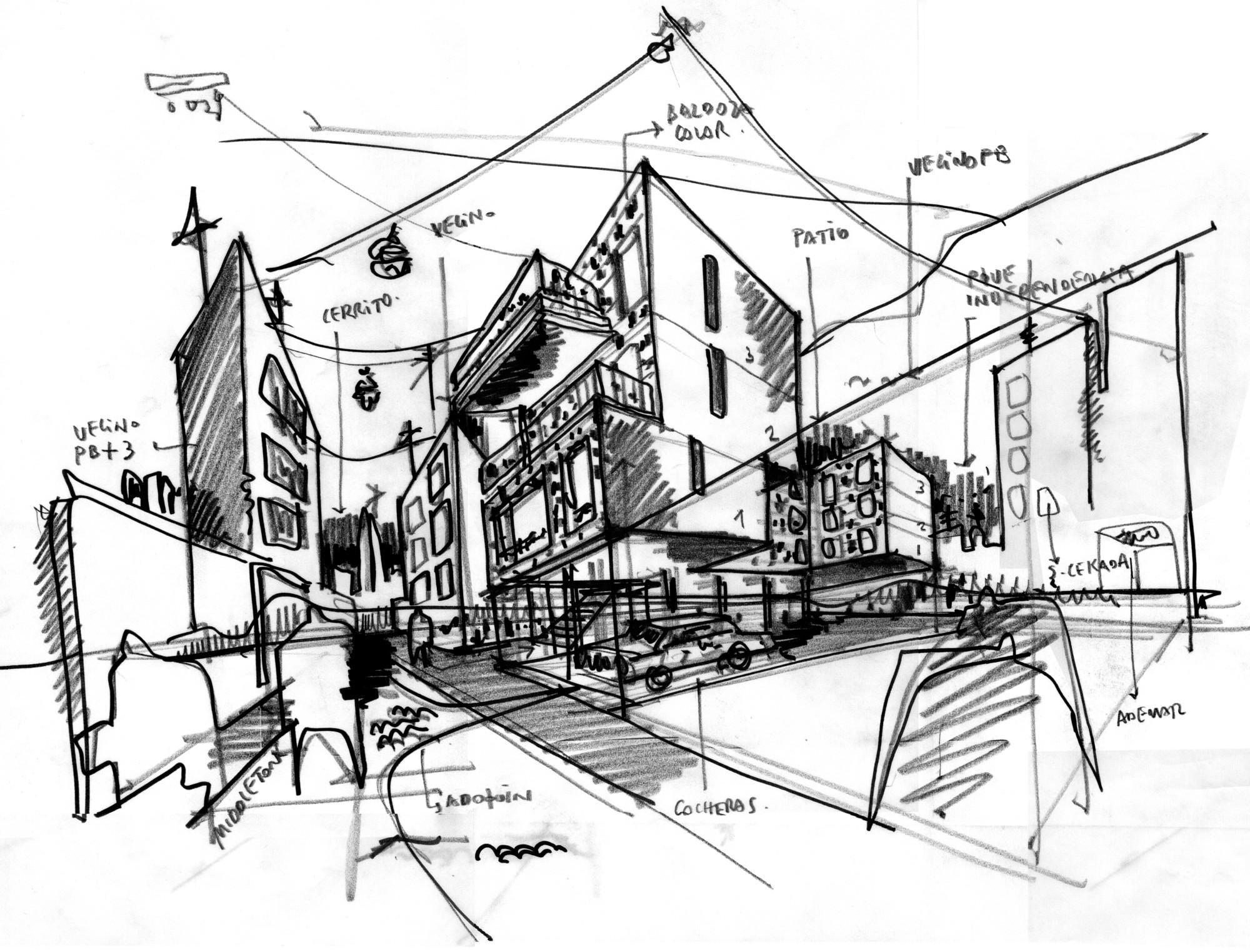 Gallery of grecco building arzubialde arquitectos 19 - Mesa de dibujo para arquitectura ...