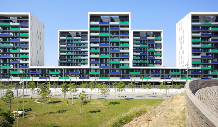 Edifício Vilamarina / Batlle i Roig Arquitectes, © José Hevia