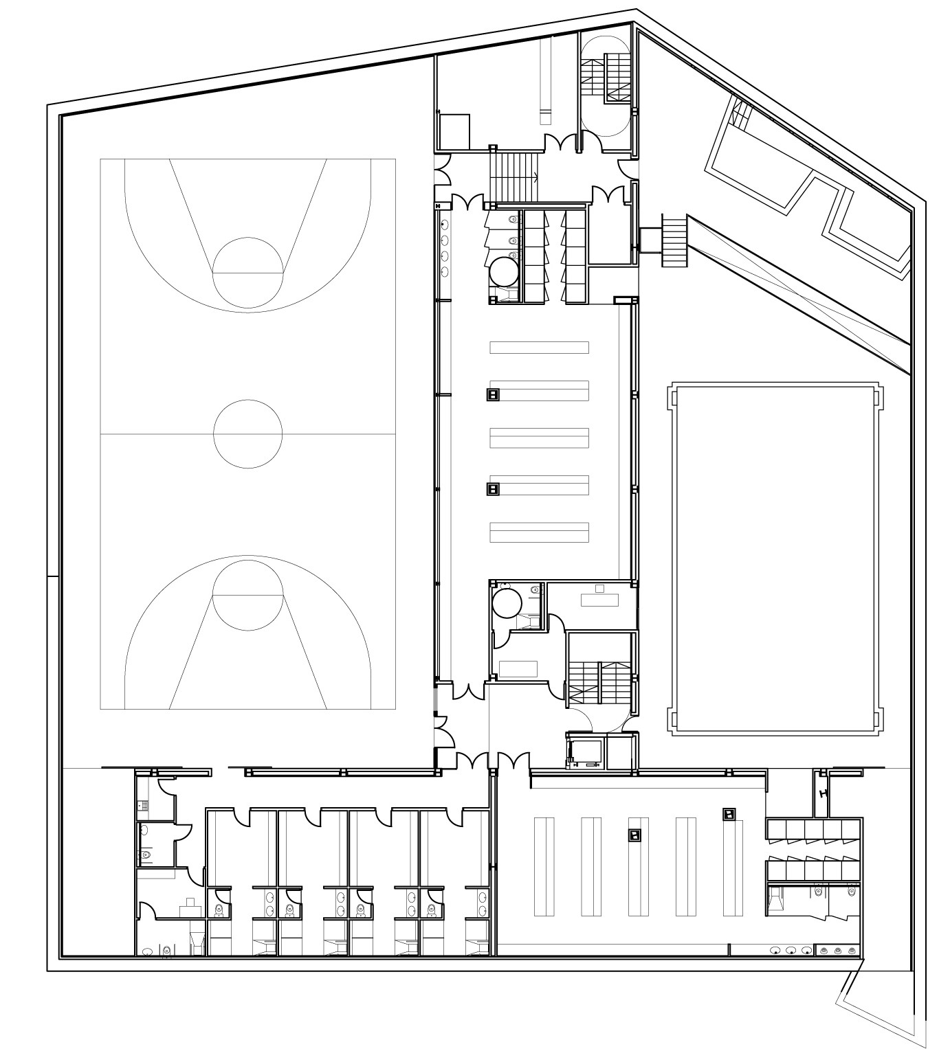 Gallery Of Sports Facility Batlle I Roig Arquitectes 36
