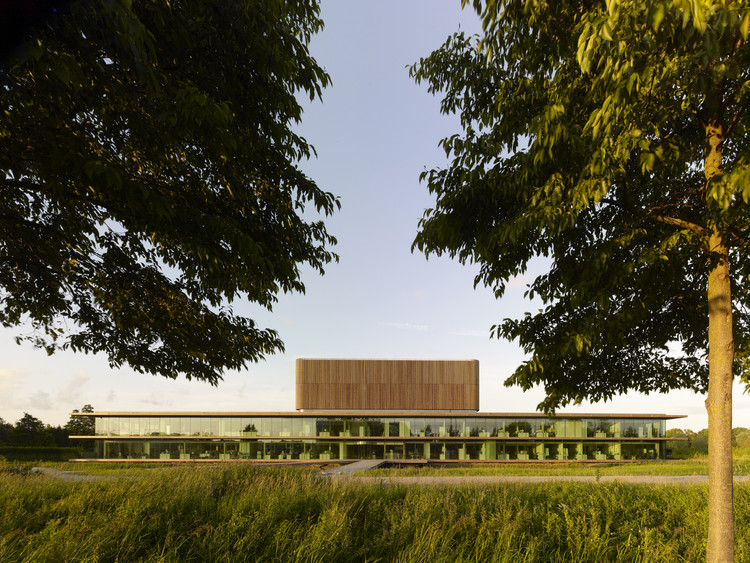 Netherlands Institute for Ecology (NIOO-KNAW) / Claus en Kaan Architecten, © Christian Richters