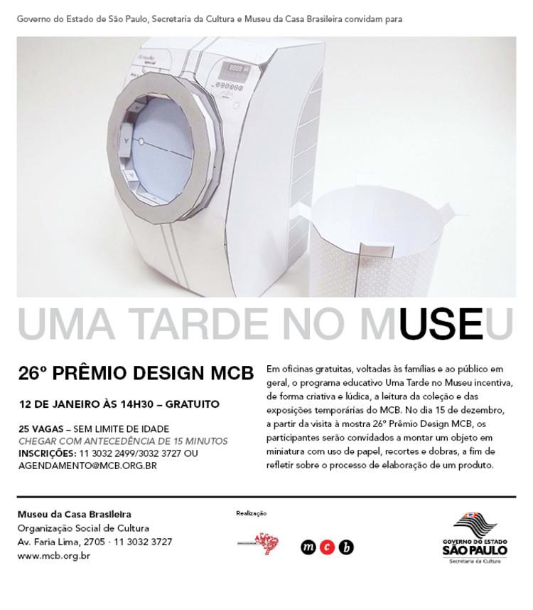 Uma Tarde no Museu no MCB, via Museu da Casa Brasileira