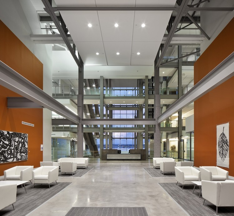 Nova Scotia Power Corporate Headquarters WZMH Architects ArchDaily