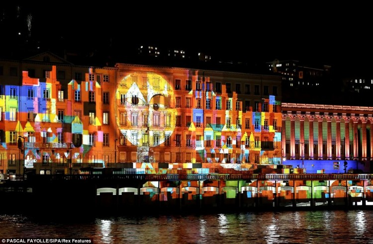 """14º Festival de las Luces"" en Lyon, Francia, © Pascall Fayolle"