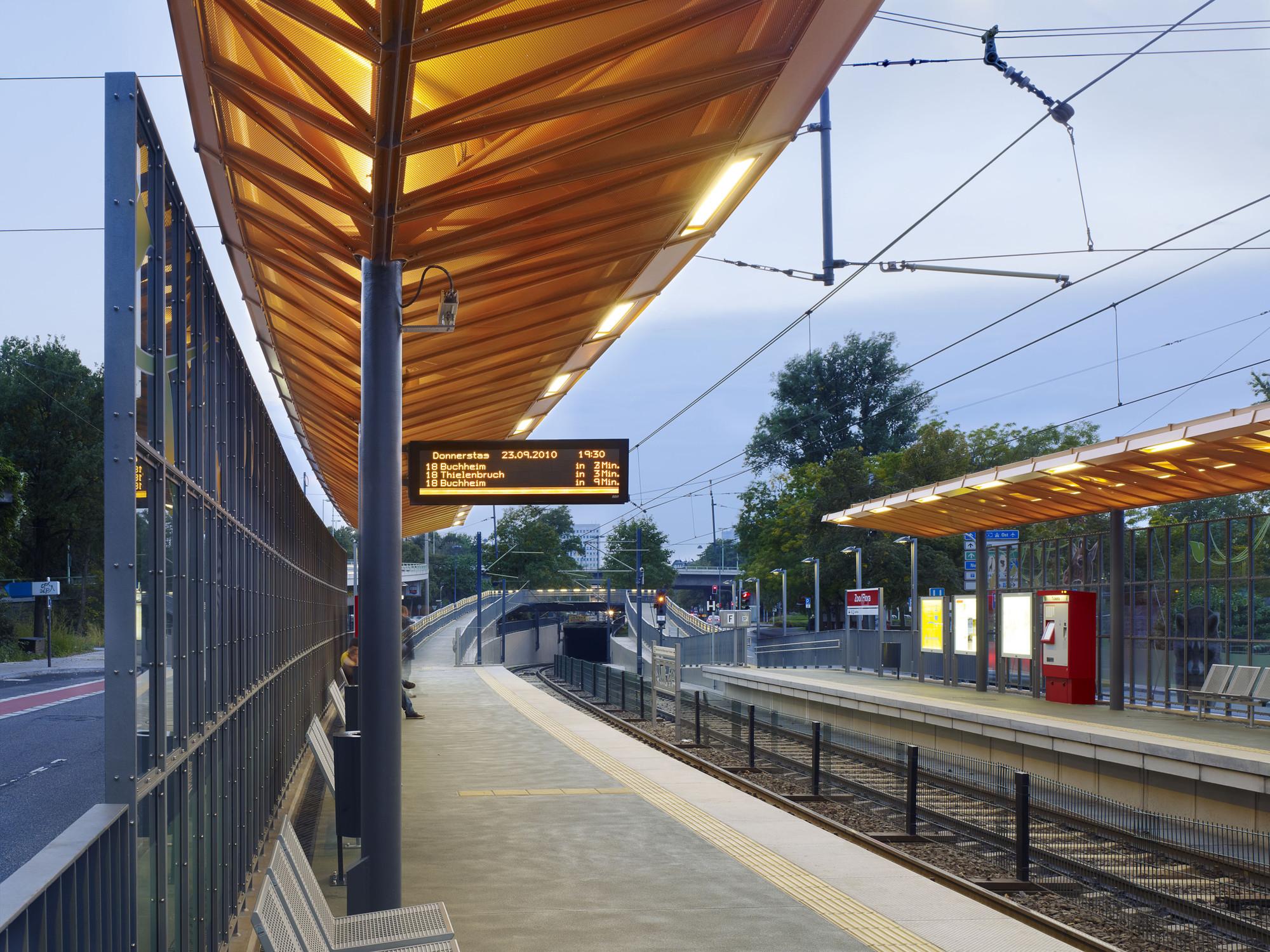 Zoo/Flora Rail Station / RÜBSAMEN+PARTNER