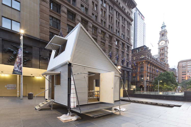 Emergency Shelter / Carterwilliamson Architects, © Brett Boardman