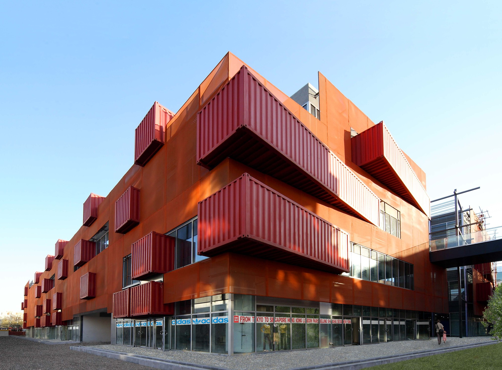 Sanlitun south lot ek architecture design archdaily - Container home architects ...