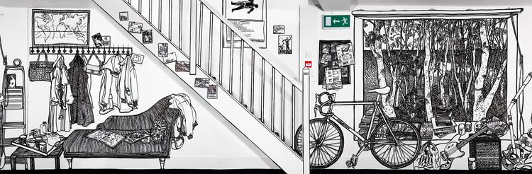 Arte y Arquitectura: Las Paredes de Charlotte Mann, vía charlottemann.co.uk