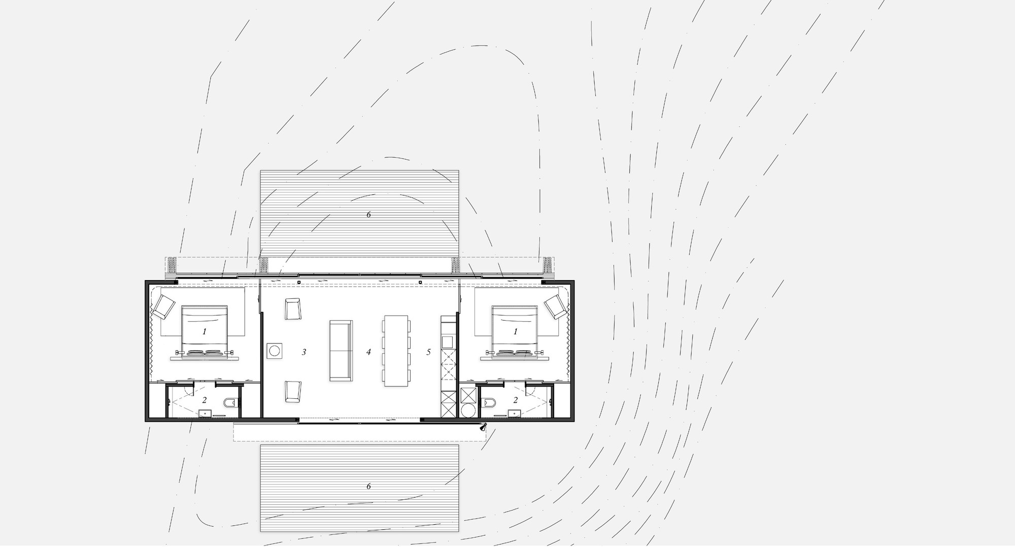 Gallery of storm cottage fearon hay architects 10 for Fha house plans