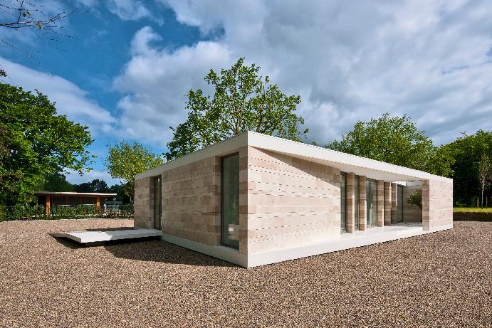 Pavilhão para Funerais Islâmicos / Atelier PUUUR , © Teo Krijgsman