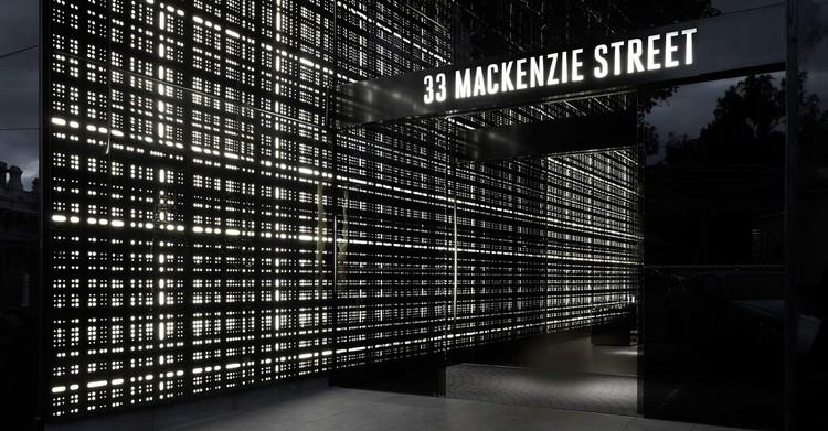 A iluminação interna para a  Torre 33 Mackenzie / Elenberg Fraser, © vía Elenberg Fraser