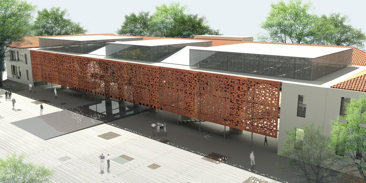Propuesta espacio para la memoria en argentina estudio for Edificios educativos arquitectura