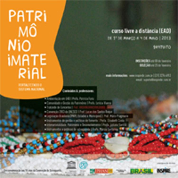 IPHAN e UNESCO oferecem curso a distância de Patrimônio Imaterial, Cortesia de IPHAN