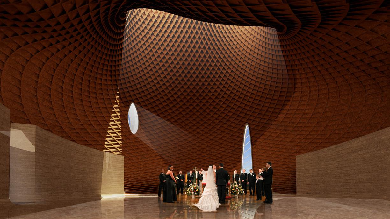 Brooks + Scarpa design Interfaith Chapel in Florida
