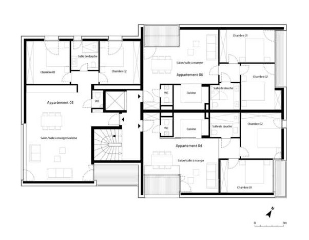Gallery of 7 units housing building metaform 2 unit building plan