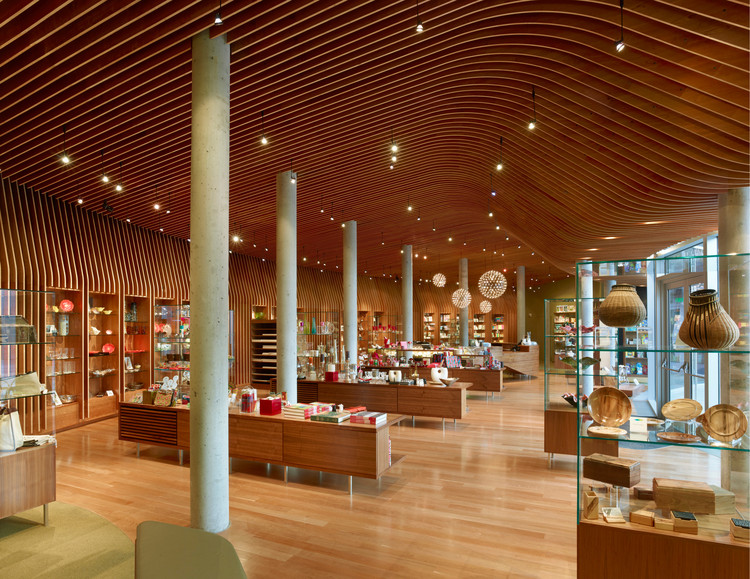 Crystal Bridges Museum Store / Marlon Blackwell Architect, Courtesy of Timothy Hursley